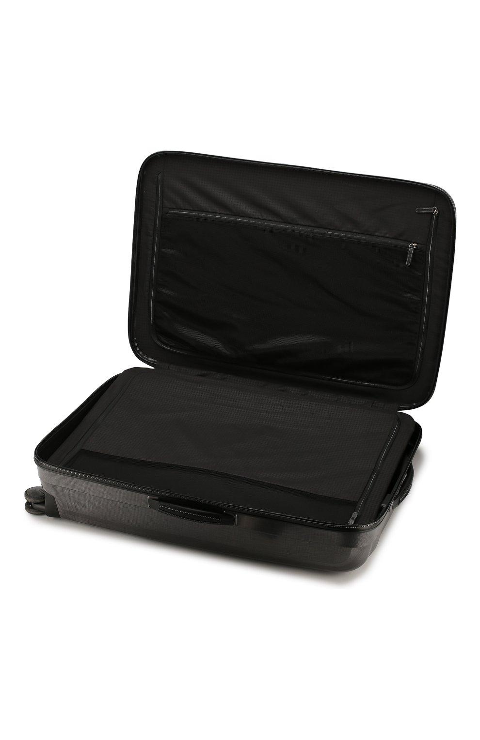 Женский дорожный чемодан lite cube extra large SAMSONITE серого цвета, арт. 82V-28005 | Фото 3 (Статус проверки: Проверено, Проверена категория; Ограничения доставки: oversized; Размер: large)