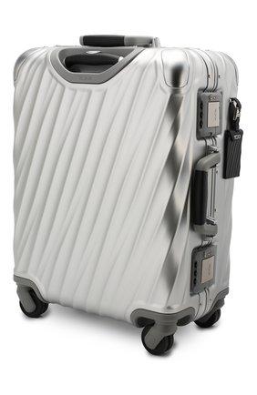 Женский дорожный чемодан 19 degree aluminum TUMI серебряного цвета, арт. 036861SLV2 | Фото 2