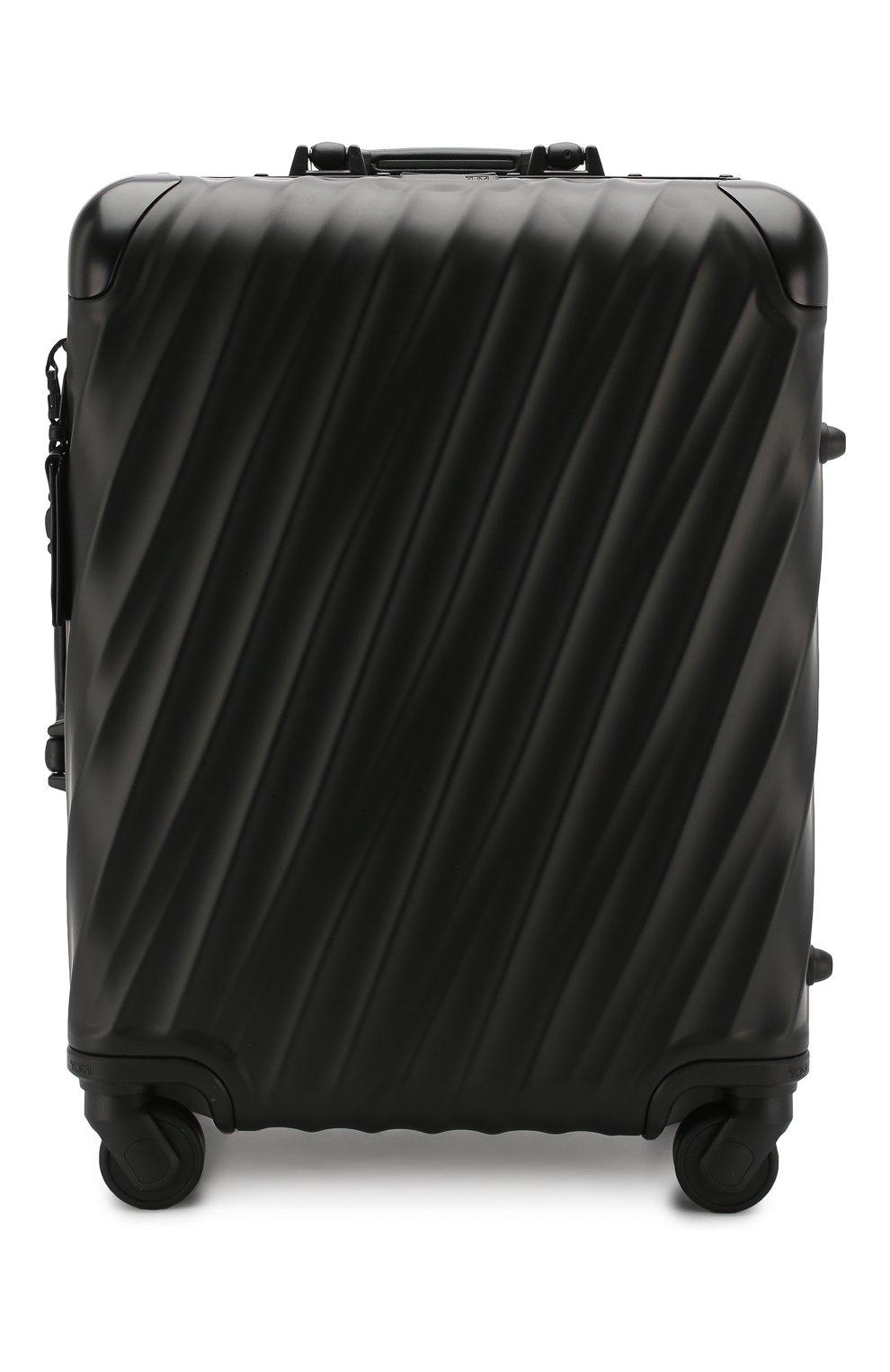 Женский дорожный чемодан 19 degree aluminum TUMI черного цвета, арт. 036861MD2   Фото 1 (Статус проверки: Проверено, Проверена категория; Размер: large; Ограничения доставки: oversized)