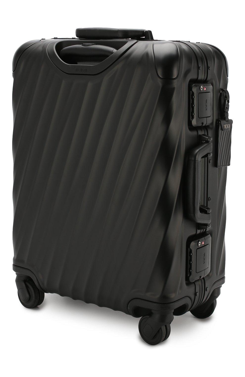 Женский дорожный чемодан 19 degree aluminum TUMI черного цвета, арт. 036861MD2   Фото 2 (Статус проверки: Проверено, Проверена категория; Размер: large; Ограничения доставки: oversized)