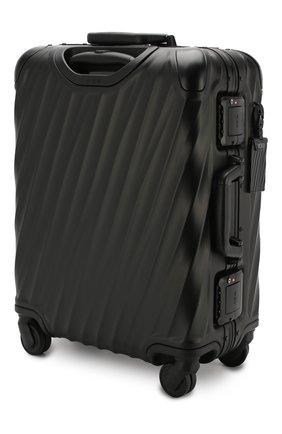 Женский дорожный чемодан 19 degree aluminum TUMI черного цвета, арт. 036861MD2 | Фото 2