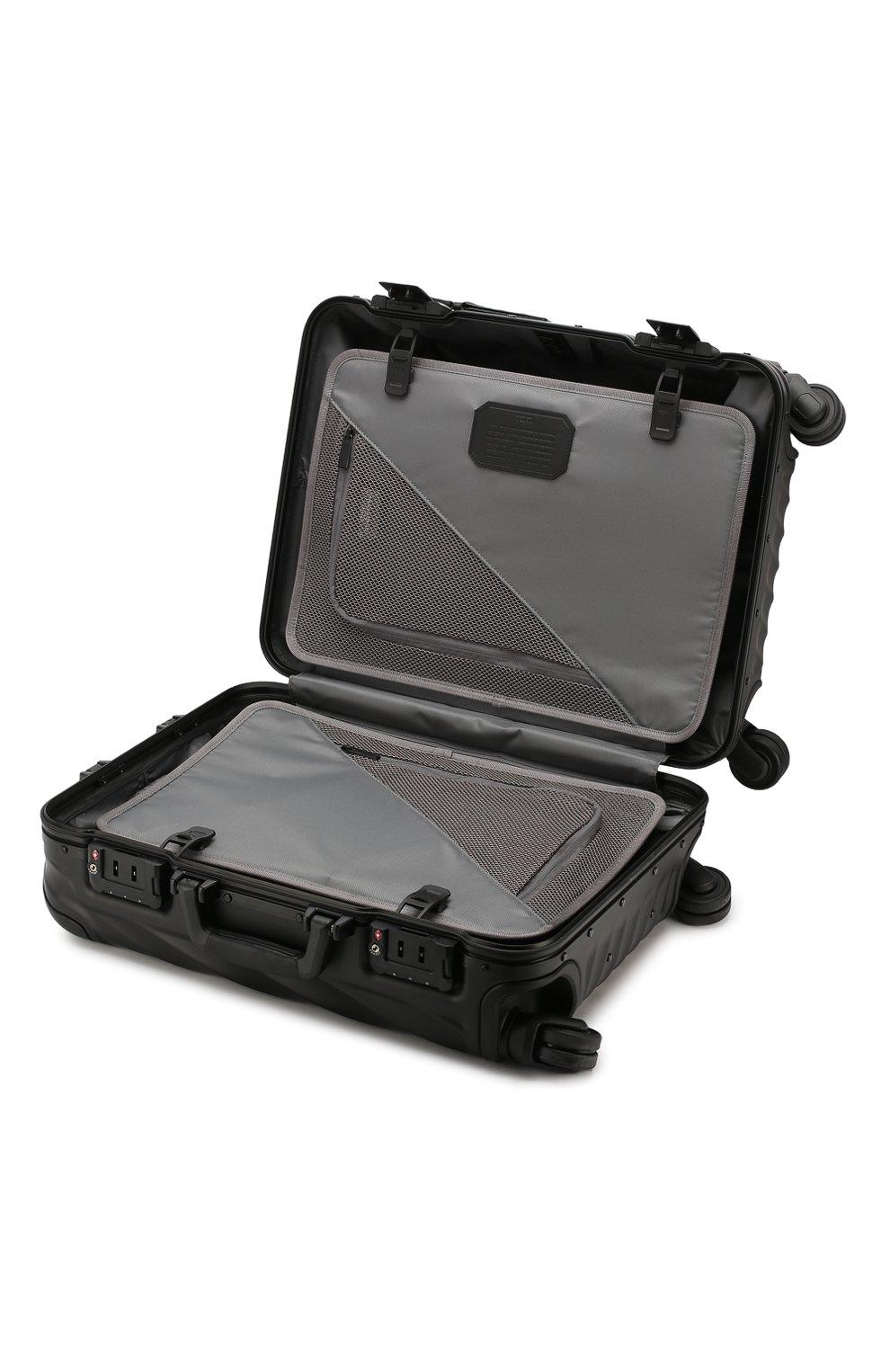 Женский дорожный чемодан 19 degree aluminum TUMI черного цвета, арт. 036861MD2   Фото 3 (Статус проверки: Проверено, Проверена категория; Размер: large; Ограничения доставки: oversized)