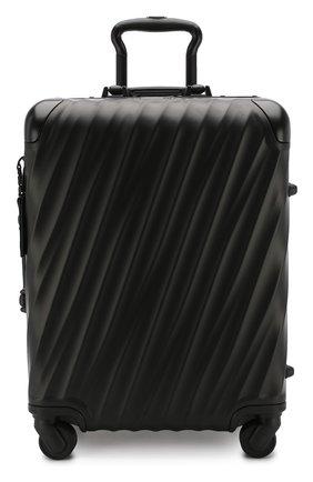 Женский дорожный чемодан 19 degree aluminum TUMI черного цвета, арт. 036861MD2   Фото 4 (Статус проверки: Проверено, Проверена категория; Размер: large; Ограничения доставки: oversized)