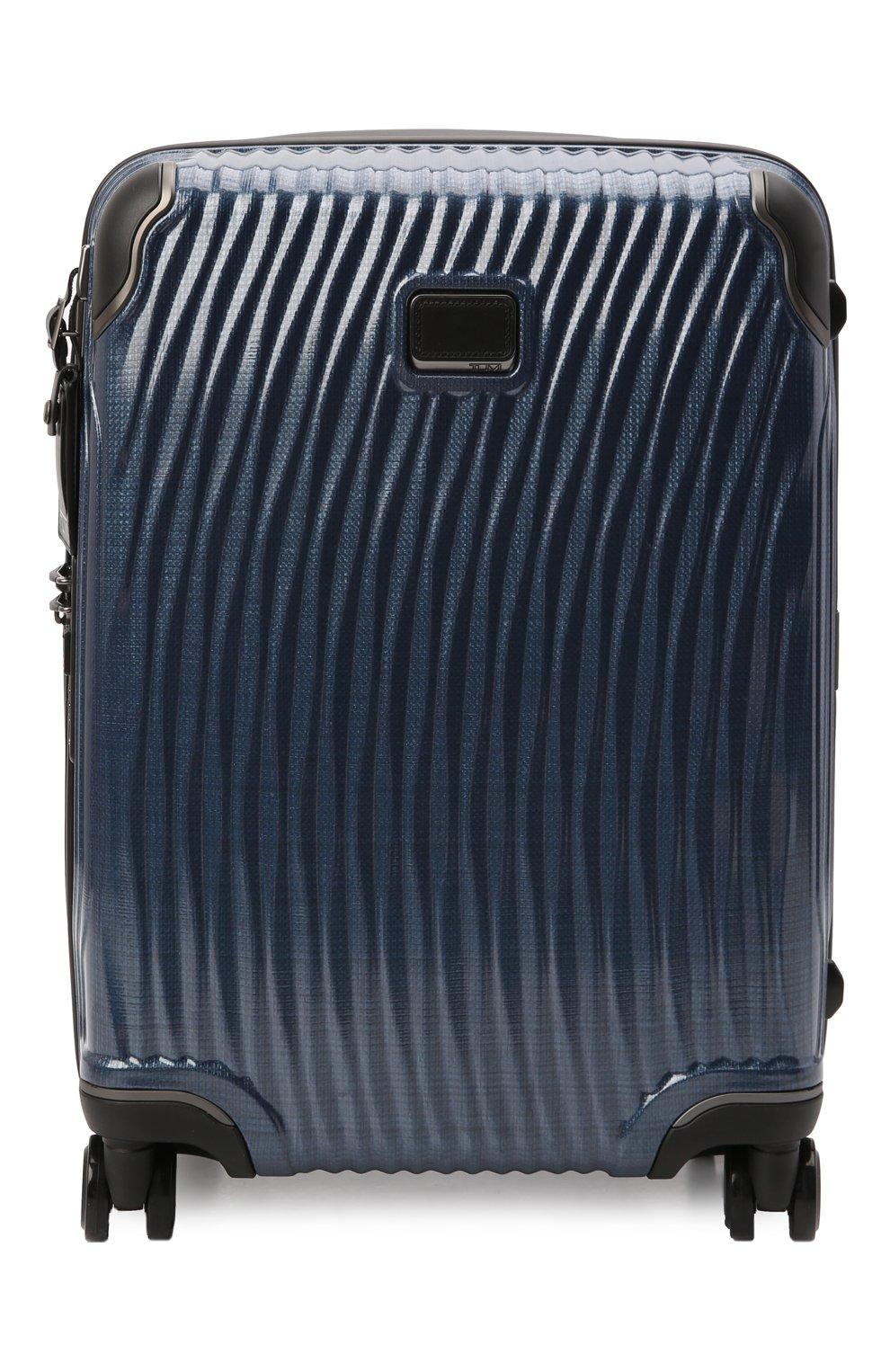 Женский дорожный чемодан latitude TUMI синего цвета, арт. 0287607NVY | Фото 1 (Ограничения доставки: oversized; Размер: large)