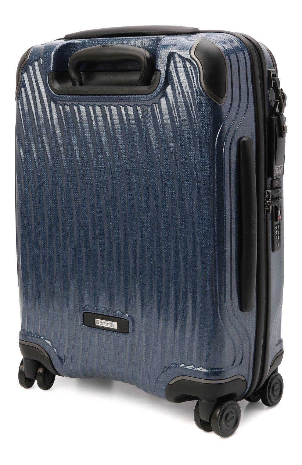 Женский дорожный чемодан latitude TUMI синего цвета, арт. 0287607NVY | Фото 2 (Ограничения доставки: oversized; Размер: large)