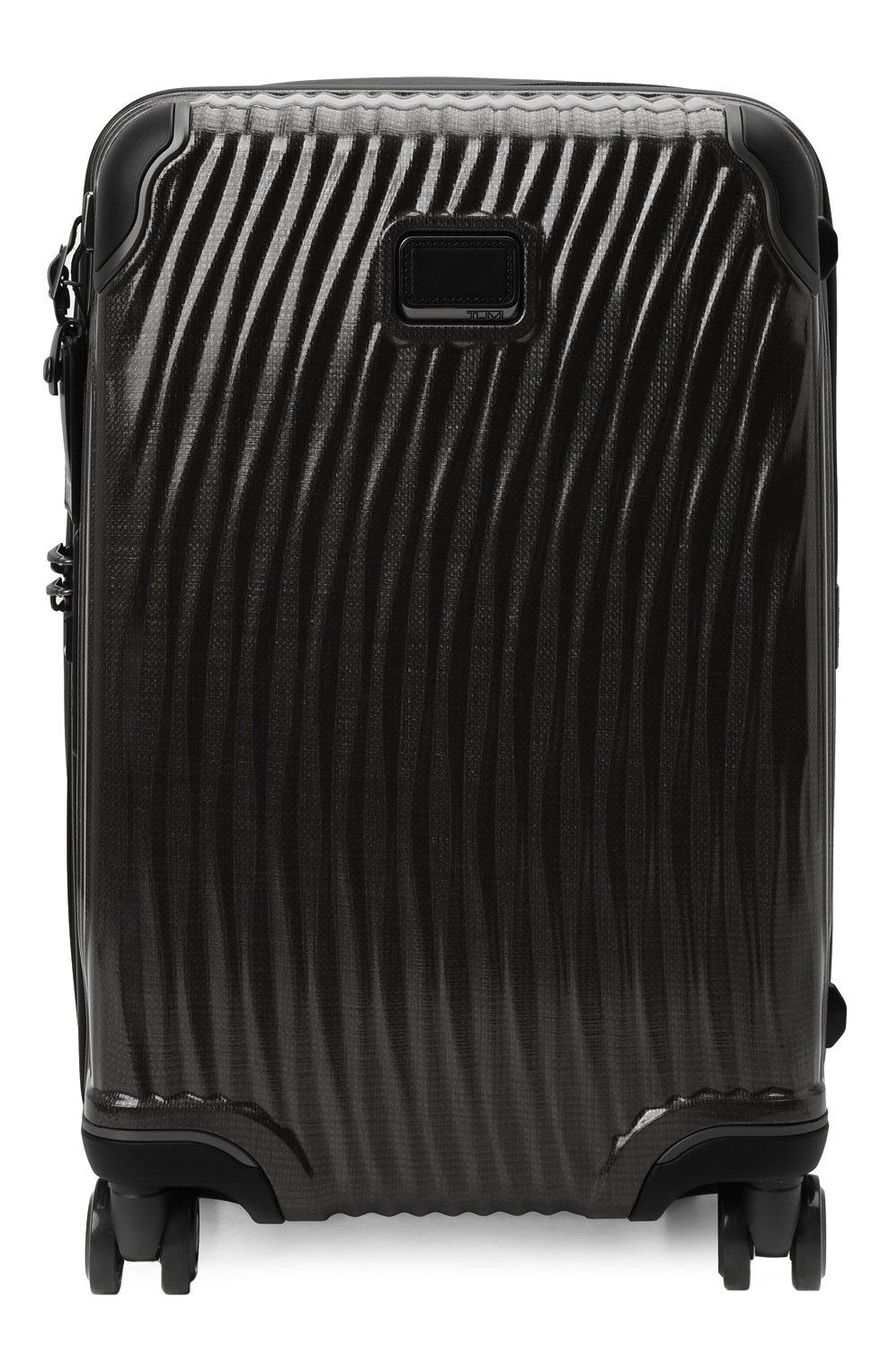 Женский дорожный чемодан latitude TUMI черного цвета, арт. 0287660D | Фото 1 (Статус проверки: Проверено, Проверена категория; Ограничения доставки: oversized; Размер: large)