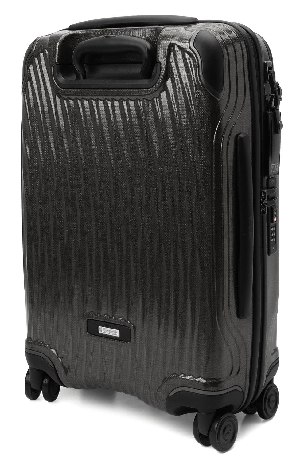 Женский дорожный чемодан latitude TUMI черного цвета, арт. 0287660D | Фото 2 (Статус проверки: Проверено, Проверена категория; Ограничения доставки: oversized; Размер: large)