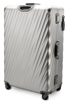 Женский дорожный чемодан 19 degree aluminum TUMI серебряного цвета, арт. 036847SLV2 | Фото 2