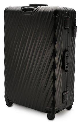 Женский дорожный чемодан 19 degree aluminum TUMI черного цвета, арт. 036847MD2 | Фото 2
