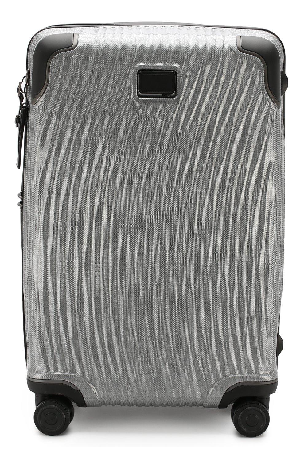 Женский дорожный чемодан latitude TUMI серебряного цвета, арт. 0287664SLV | Фото 1 (Статус проверки: Проверено, Проверена категория; Ограничения доставки: oversized; Размер: large)