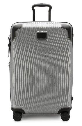Женский дорожный чемодан latitude TUMI серебряного цвета, арт. 0287664SLV | Фото 4 (Статус проверки: Проверено, Проверена категория; Ограничения доставки: oversized; Размер: large)