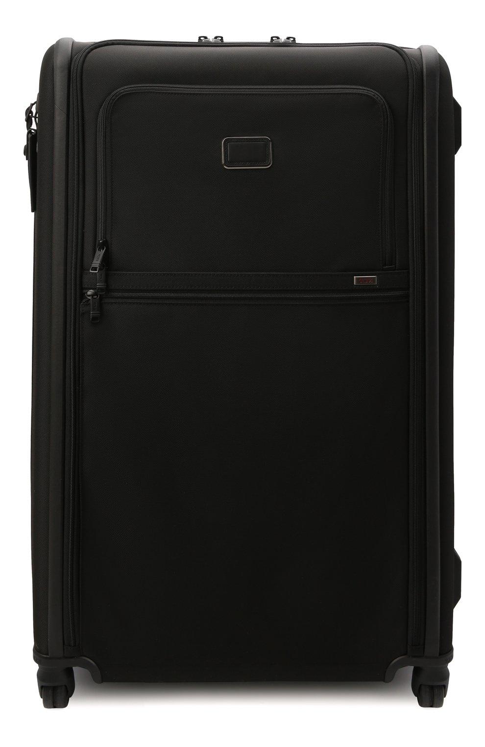 Женский дорожный чемодан alpha 3 TUMI черного цвета, арт. 02203647D3 | Фото 1 (Ограничения доставки: oversized; Размер: large)