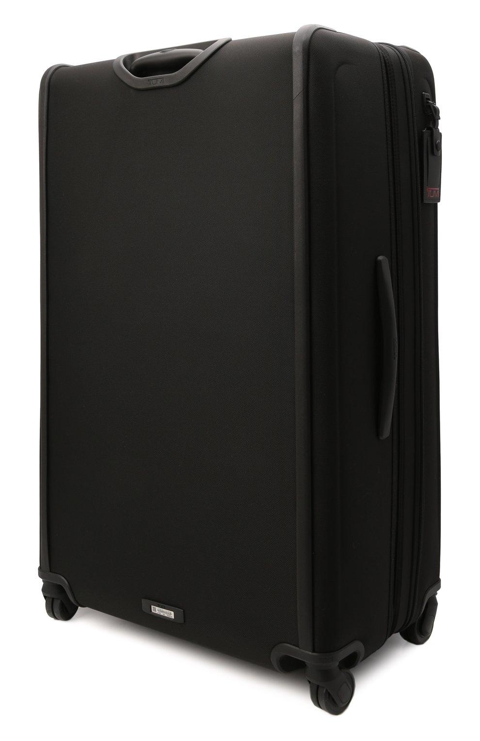 Женский дорожный чемодан alpha 3 TUMI черного цвета, арт. 02203647D3 | Фото 2 (Ограничения доставки: oversized; Размер: large)