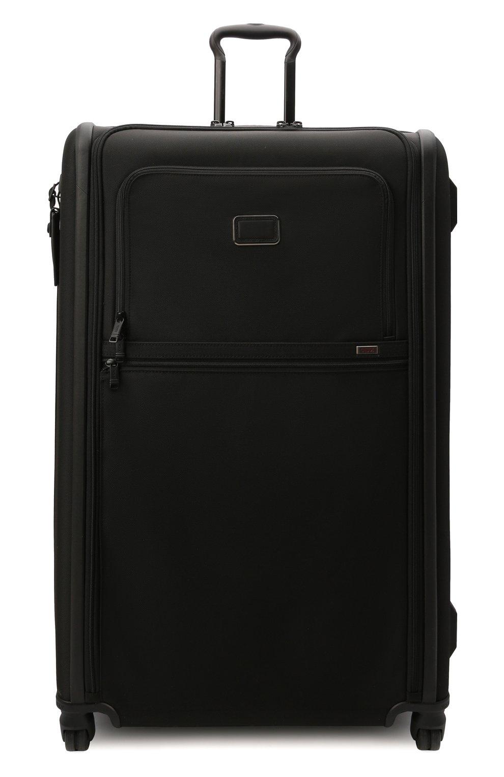 Женский дорожный чемодан alpha 3 TUMI черного цвета, арт. 02203647D3 | Фото 4 (Ограничения доставки: oversized; Размер: large)