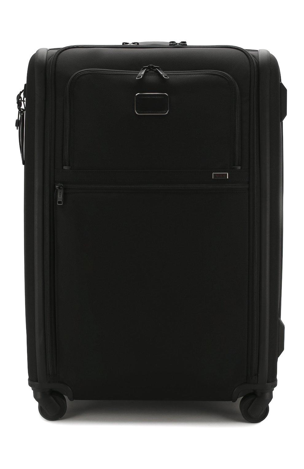 Женский дорожный чемодан alpha 3 TUMI черного цвета, арт. 02203067D3 | Фото 1 (Статус проверки: Проверено, Проверена категория; Ограничения доставки: oversized; Размер: large)