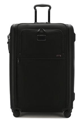 Женский дорожный чемодан alpha 3 TUMI черного цвета, арт. 02203067D3 | Фото 4 (Статус проверки: Проверено, Проверена категория; Ограничения доставки: oversized; Размер: large)