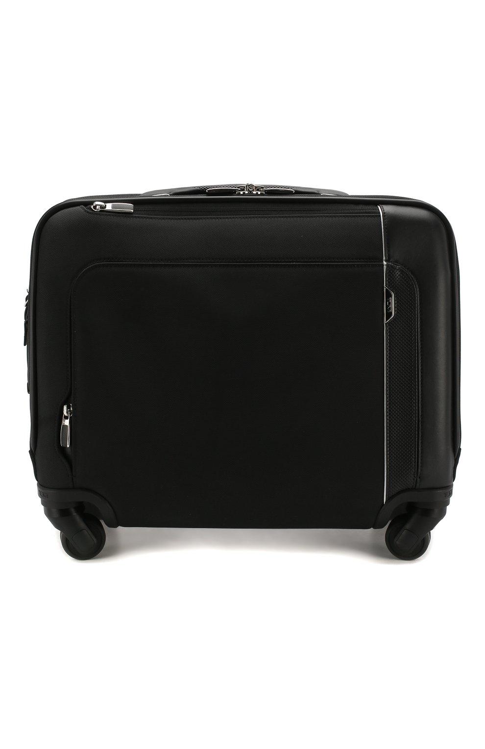 Женский дорожный чемодан arrive TUMI черного цвета, арт. 025503663D3 | Фото 1 (Статус проверки: Проверено, Проверена категория; Размер: large; Ограничения доставки: oversized)