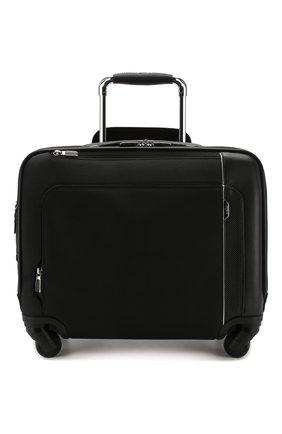 Женский дорожный чемодан arrive TUMI черного цвета, арт. 025503663D3 | Фото 4 (Статус проверки: Проверено, Проверена категория; Размер: large; Ограничения доставки: oversized)