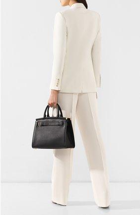 Женская сумка rl50 medium RALPH LAUREN черного цвета, арт. 435769047   Фото 2
