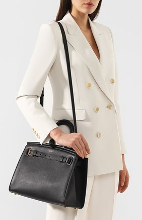 Женская сумка rl50 medium RALPH LAUREN черного цвета, арт. 435769047   Фото 5