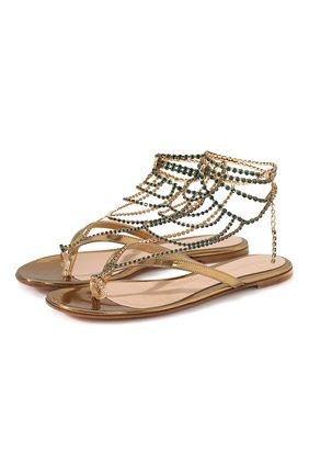 Кожаные сандалии Nadja | Фото №1