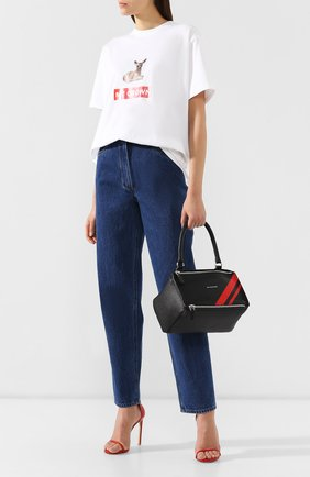 Женская сумка pandora small GIVENCHY красного цвета, арт. BB500AB0EW | Фото 2
