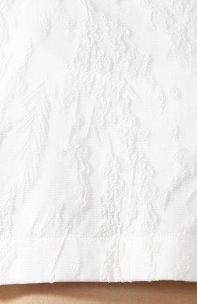 Топ из смеси шерсти и шелка   Фото №5