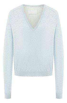 Пуловер из смеси хлопка и кашемира | Фото №1