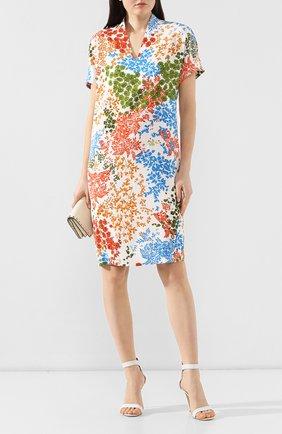Женское платье с принтом ESCADA разноцветного цвета, арт. 5030202 | Фото 2