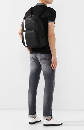 Мужской рюкзак off shore BALLY черного цвета, арт. SARKIS.0F/00 | Фото 2