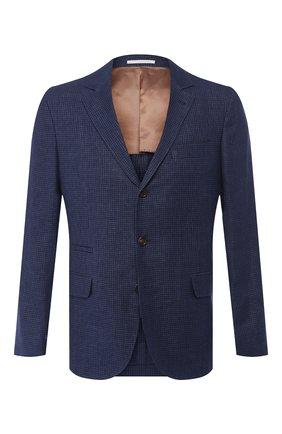 Пиджак из смеси льна и шерсти | Фото №1