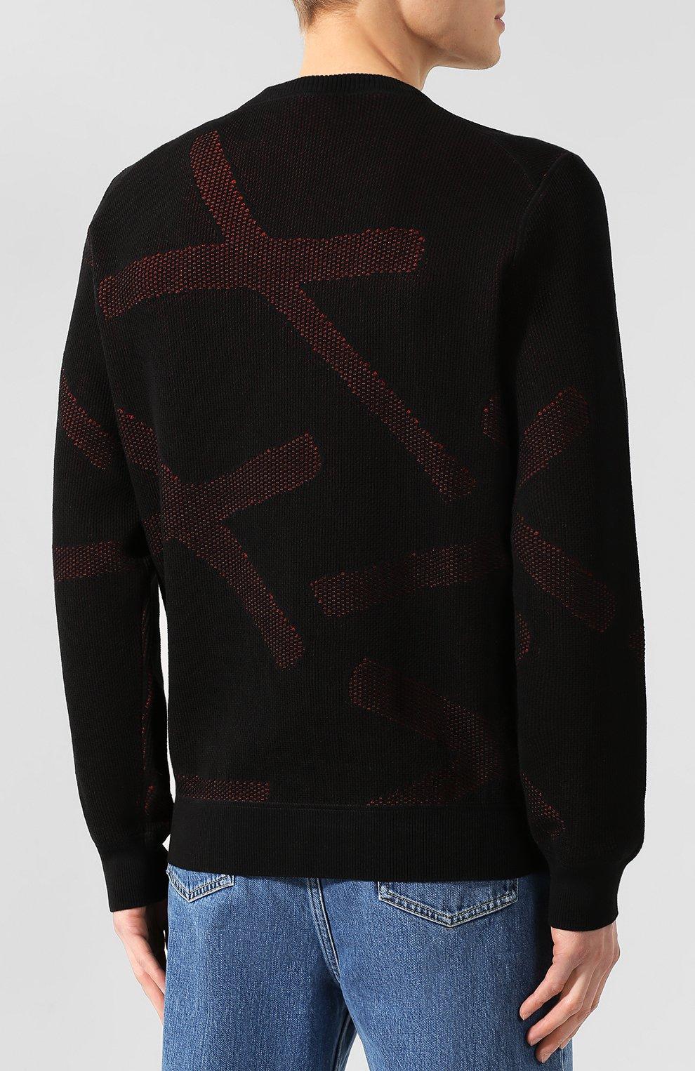 Хлопковый свитер | Фото №4