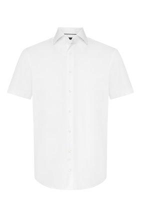 Мужская хлопковая рубашка  VAN LAACK белого цвета, арт. TIVARA2-S-PTF/150185 | Фото 1