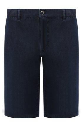 Мужские хлопковые шорты ZILLI темно-синего цвета, арт. MCR-00251-DEUL1/R001 | Фото 1