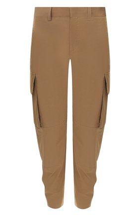 Хлопковые брюки-карго   Фото №1