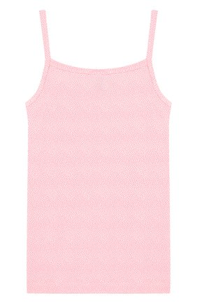 Детская хлопковая майка SANETTA розового цвета, арт. 345532 | Фото 2
