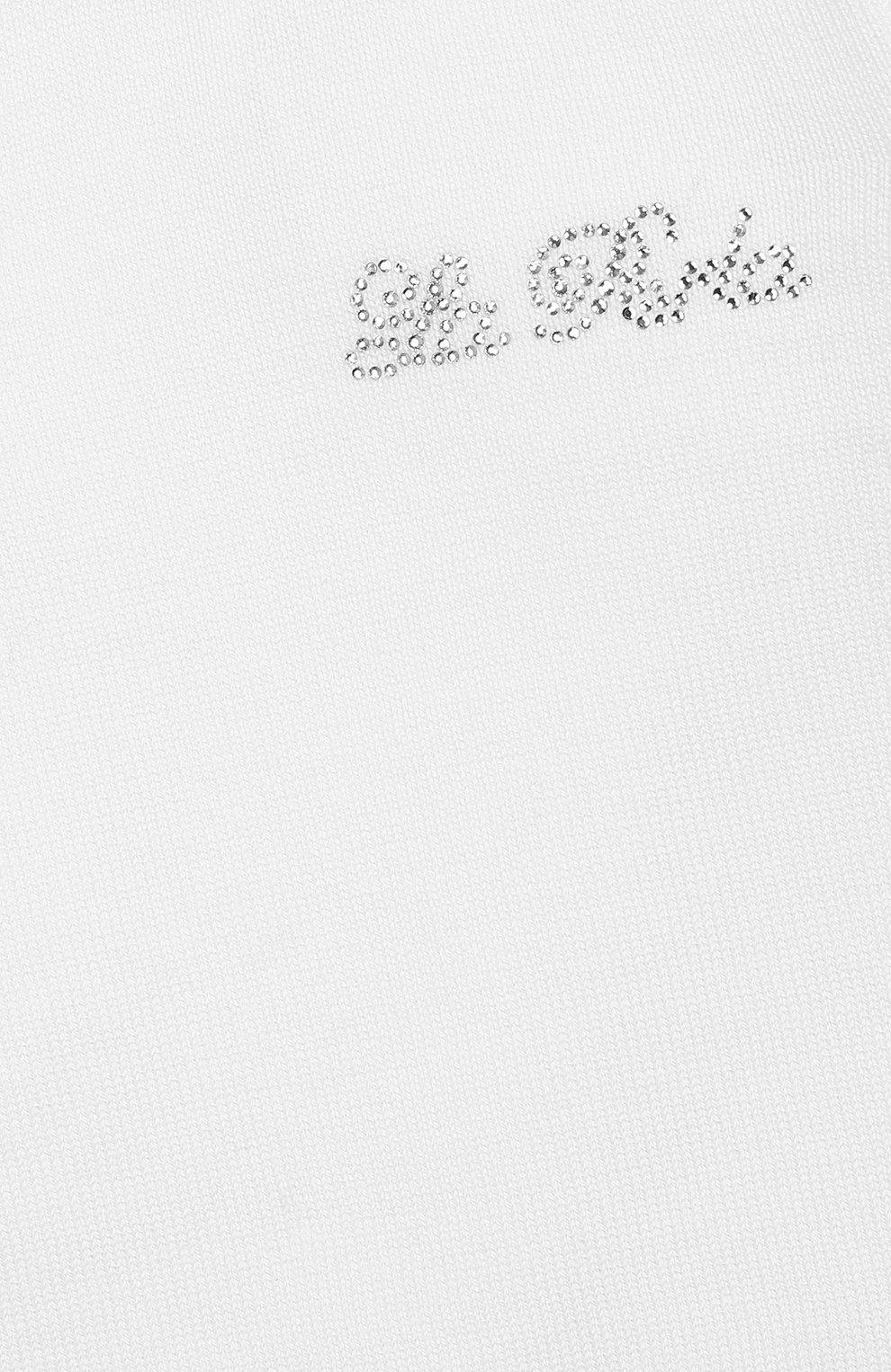 Комплект из хлопкового комбинезон и кардигана | Фото №6