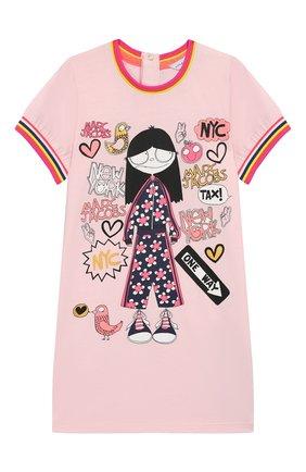Женский мини-платье MARC JACOBS (THE) розового цвета, арт. W02125/2A-3A | Фото 1