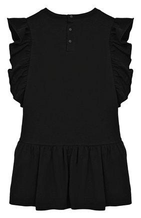 Женский хлопковое платье GIVENCHY черного цвета, арт. H02039/2A-3A | Фото 2