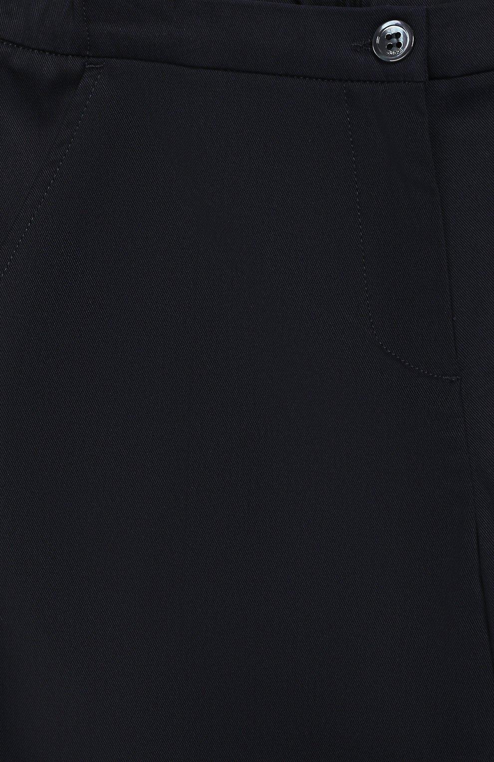 Укороченные брюки из хлопка | Фото №3