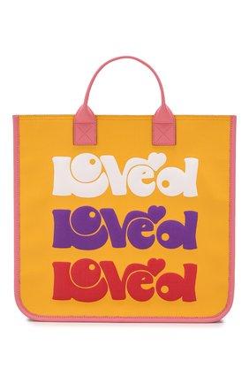Детская сумка GUCCI разноцветного цвета, арт. 550763/KHFRN | Фото 1