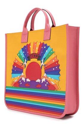 Детская сумка GUCCI разноцветного цвета, арт. 550763/KHFRN | Фото 2