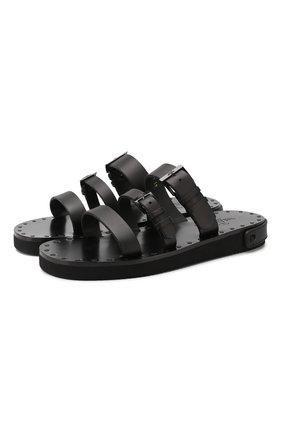 Кожаные сандалии Valentino Garavani Escape   Фото №1