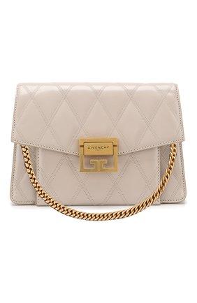 Сумка GV3 small  Givenchy кремовая цвета | Фото №1