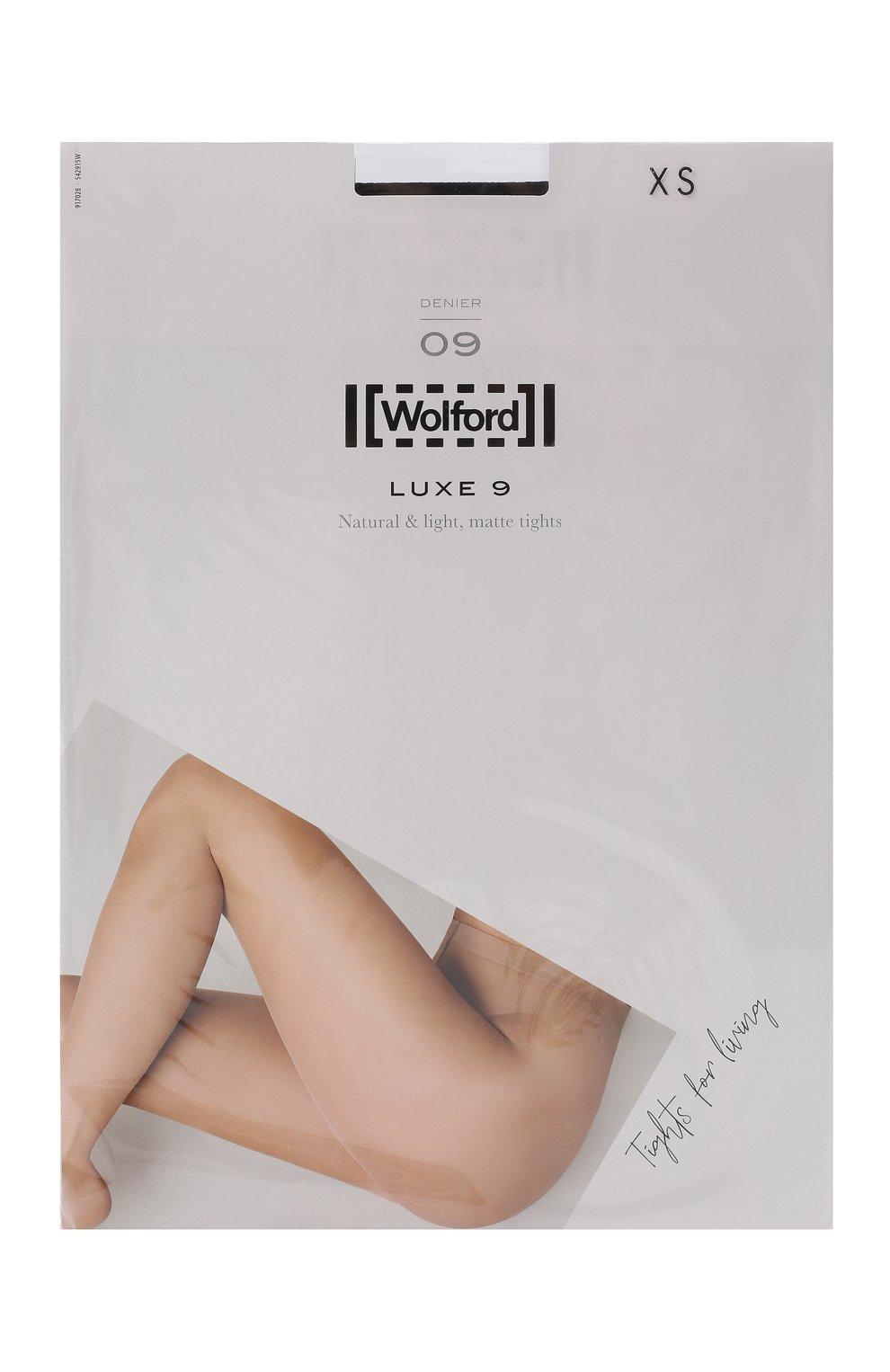 Женские капроновые колготки WOLFORD черного цвета, арт. 17028 | Фото 1