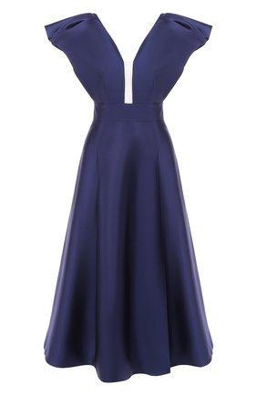 Платье из смеси шелка и шерсти | Фото №1