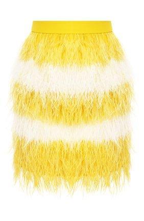 Юбка с перьями | Фото №1