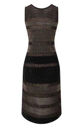 Платье из смеси вискозы и шерсти   Фото №1