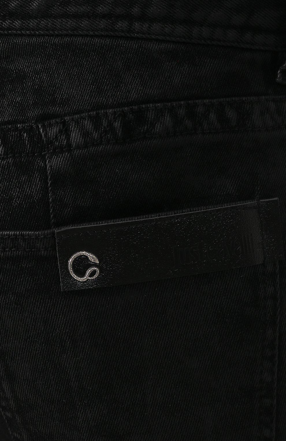 Джинсы Just Cavalli черные | Фото №5