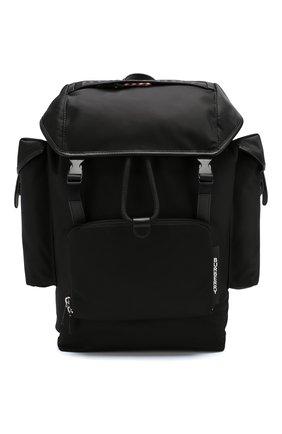 Мужской текстильный рюкзак BURBERRY черного цвета, арт. 8010607 | Фото 1